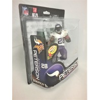 2014 Adrian Peterson McFarlane's Sportspicks Figure Minnesota Vikings NFL 34 NFLPA