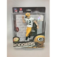 2014 Aaron Rodgers McFarlane's Sportspicks Debut SPD Figure NFLPA NFL 34 Green Bay Packers