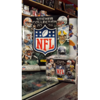 2014 Panini NFL 50 Pack Sticker Box Collection w/72 Page Album