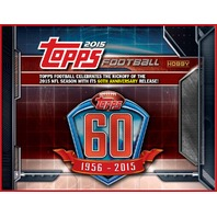2015 Topps Football Jumbo HTA Box (Sealed)