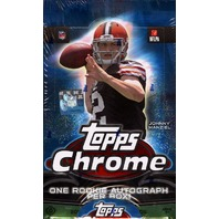 2014 Topps Chrome Football Hobby Box (Sealed)