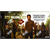 2014 The Walking Dead Season 3: Part 1 (Cryptozoic) Box (Sealed)