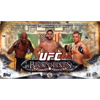 2014 Topps UFC Bloodlines Hobby Box (Sealed)
