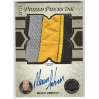 Marcos Ambrose 2013 Press Pass Showcase Prized Pieces Ink Autograph FireSuit /25