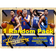 2015/16 Panini Absolute Basketball 5 Card Hobby Mini-Box/Pack (Sealed) (Random)