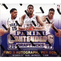 2015/16 Panini Contenders Draft Basketball Hobby Box (24 Packs)(Factory Sealed)