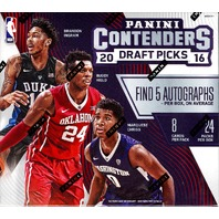 2016/17 Panini Contenders Draft Picks Basketball 24 Pack Hobby Box (Sealed) NCAA