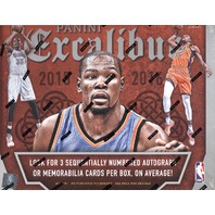 2015/16 Panini Excalibur Basketball Hobby Box (Sealed) (6 Packs)