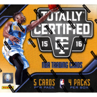 2015/16 Panini Totally Certified Basketball Hobby Box (Sealed)
