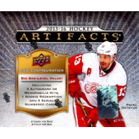 2015/16 Upper Deck Artifacts Hockey Hobby Box (Sealed) 15/16