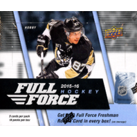2015/16 Upper Deck Full Force Hockey 18-Pack Box (Factory Sealed) 15/16