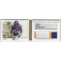 Cordarrelle Patterson Vikings 2013 Panini Playbook Autograph Patch /49 RC