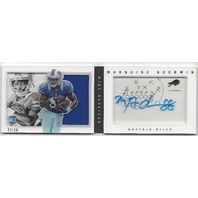 Marquise Goodwin Buffalo Bills 2013 Panini Playbook Rookie Autograp RC /25