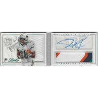Lamar Miller Miami Dolphins 2012 Panini Playbook Rookie Autograph Patch RC /149