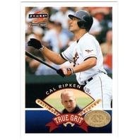 CAL RIPKEN JR. 1997 Score Hobby Reserve True Grit Insert Card #HR546