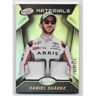 Daniel Suarez 2016 Panini Certified Xfinity Materials Mirror Silver /199