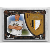 JUNG HO KANG 2016 Topps Museum Collection Meaningful Material Prime Patch /10