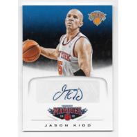 JASON KIDD 2012-13 Panini Marquee Signatures #35 New York Knicks Autograph Auto