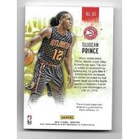 TAUREAN PRINCE 2016-17 Panini NBA Day Hyperplaid button 1/1 Atlants Hawks