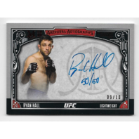 RYAN HALL 2016 UFC Topps Museum Collection Archival auto /10 autograph