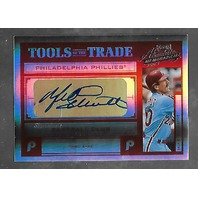 MIKE SCHMIDT 2004 Playoff Absolute Memorabilia Tools Trade auto /10 autograph