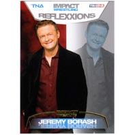 JEREMY BORASH 2012 Tristar TNA Impact Reflexxions Gold Wrestling /10 Parallel Card