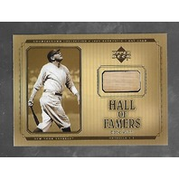 BABE RUTH 2001 Upper Deck Hall of Famers Game used bat piece #B-BRu Yankees