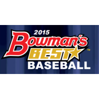 2015 Bowman's (Bowmans) Best Baseball Hobby 8 Box Case (Sealed)