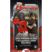 2015 Bowman Baseball Hobby 12 Box Case (Sealed)