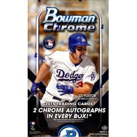 2015 Bowman Chrome Baseball Hobby Box (Sealed)