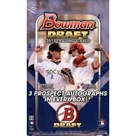 2015 Bowman Draft Picks & Prospects Baseball Jumbo Box (Sealed)