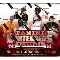 2015 Panini Contenders Baseball Hobby Box (Sealed)(24 packs) Aaron Judge