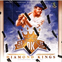 2015 Panini Donruss Diamond Kings Baseball Hobby 32 Box Case (Sealed)