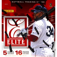 2015 Panini Elite Baseball Hobby 12 Box Case (Sealed)