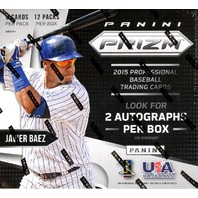 2015 Panini Prizm Baseball Hobby 20 Box Case (Sealed)