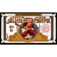 2015 Topps Allen & Ginter Baseball Hobby 12 Box Case