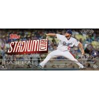 2015 Topps Stadium Club Baseball Hobby Box