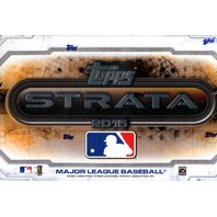 2015 Topps Strata Baseball Hobby Box (Sealed)