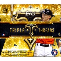 2015 Topps Triple Threads Baseball Hobby Box (Sealed)