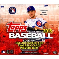 2015 Topps Update Series Baseball Jumbo HTA 6 Box Hobby Case (Sealed) Correa RC