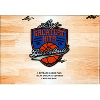 2015 Leaf Greatest Hits Basketball Hobby Box (Sealed)