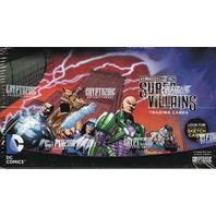 2015 Cryptozoic DC Comics Super-Villains Trading Cards Hobby Box (Sealed)