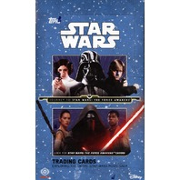 2015 Topps Star Wars Journey To The Force Awakens Hobby Box (Sealed)