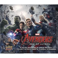 2015 Upper Deck Marvel Avengers 2: Age of Ultron Trading Card Hobby Box (Sealed)