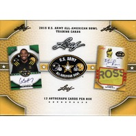 2015 Leaf US Army All American Football Box (Sealed)