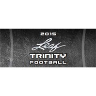 2015 Leaf Trinity Football Hobby Box (Sealed)