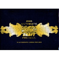 2015 Leaf Ultimate Draft Football Hobby Box (Sealed)
