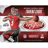 2015 Panini Certified Football Hobby 24 Box Master Case (Sealed)