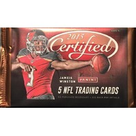 2015 Panini Certified Football 5 Card Hobby Pack (Sealed)