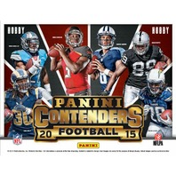 2015 Panini Contenders Football Hobby 12 Box Case (Sealed)